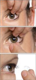 Duette Dry Finger Pinch Method
